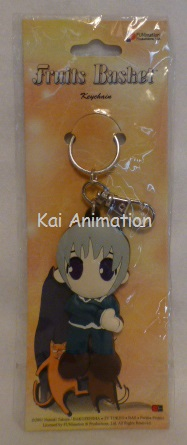 Fruits Basket Yuki Die Cut Keychain
